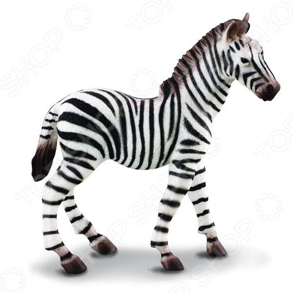 Фигурка-игрушка Gulliver Жеребенок зебры
