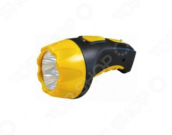Фонарик аккумуляторный Ultraflash C-3804Туристические фонари<br>Фонарик аккумуляторный Ultraflash C-3804 это удобный фонарик в герметичном корпусе. Светодиодные фонарь имеет свинцово-кислотный аккумулятор, который работает в условиях затемнения в течении долгого времени. Вы можете быстро зарядить фонарик, ведь в нем есть выдвижная сетевая вилка. Аккумулятор рассчитан на 200 циклов по разряду и заряду, а низкий коэффициент саморазряда гарантирует, что вы не останетесь в темноте в самой неподходящий момент. Можно отметить следующие характеристики фонарика:  4 светодиода;  заряд от сети 220 В 50 Гц;  светодиодный индикатор заряда;  время полного заряда аккумулятора 8 часов.<br>