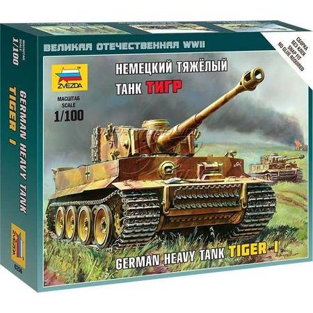 Купить Сборная модель танка Звезда «Немецкий тяжелый танк Тигр»