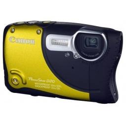 фото Фотокамера цифровая Canon PowerShot D20. Цвет: желтый