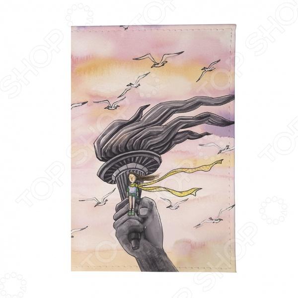 Обложка для автодокументов Mitya Veselkov «В розовых облаках»