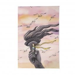 фото Обложка для автодокументов Mitya Veselkov «В розовых облаках»