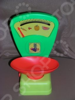 Весы игрушечные Огонек 01208 весы для продуктов игровые огонек