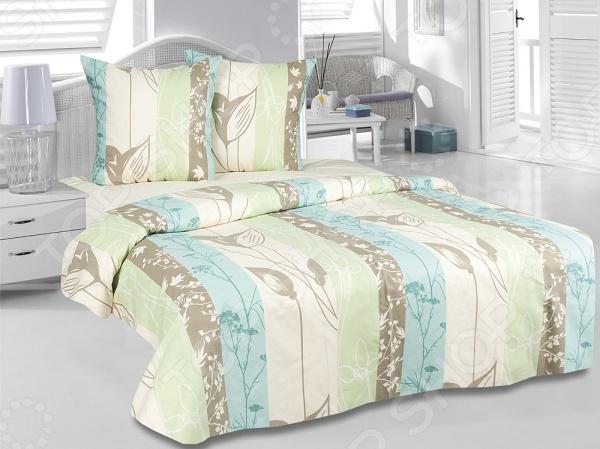 Комплект постельного белья Tete-a-Tete «Гербарий» кислотные красители в алматы