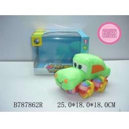 Купить Мягкая игрушка музыкальная Tongde «Машинка» В72432
