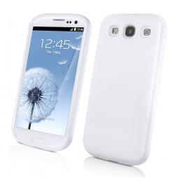 фото Чехол Muvit Minigel для Samsung S3 i9300. Цвет: белый