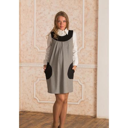 Купить Сарафан для беременных Nuova Vita 2004. Цвет: черный, белый