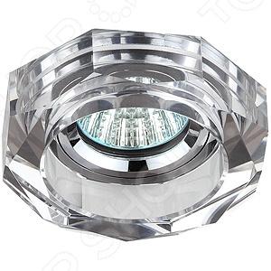 Подробнее о Светильник светодиодный встраиваемый Эра DK6 CH/SL эра dk led 2 sl