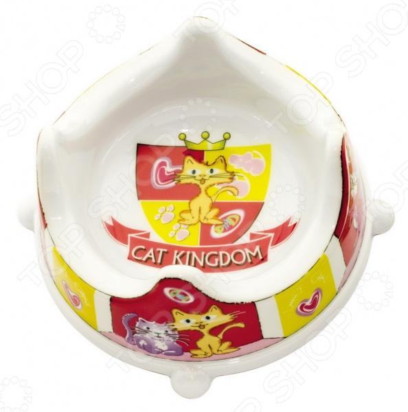 Миска для кошек DEZZIE Сat Kingdom гамма миска для кошек и собак n1