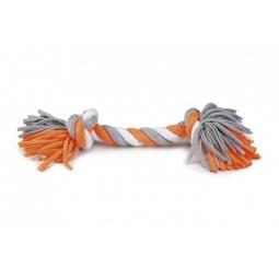 фото Игрушка для собак Beeztees Tricot «Канат с 2-мя узлами». Длина: 15 см