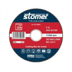 фото Диск отрезной Stomer по металлу. Размер: 115х2,5 мм. Модель: CD-115