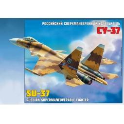 """фото Сборная модель Звезда Самолет """"Су-37"""""""