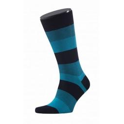 фото Носки мужские Teller Casual Friday Wide Stripes. Цвет: синий. Размер: 42-43