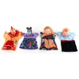 Купить Набор для кукольного театра Русский стиль «Курочка Ряба»