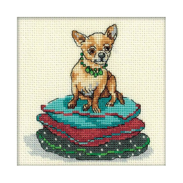 фото Набор для вышивания RTO «Интерьерные собаки»