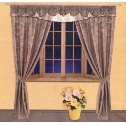 фото Комплект штор Злата Корунка 55525
