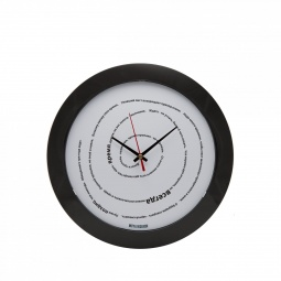 Купить Часы настенные Mitya Veselkov «Лучше поздно, чем никогда»