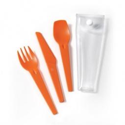 фото Набор столовых приборов IRIS Barcelona I8413. Цвет: оранжевый