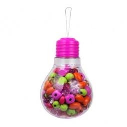 фото Набор для создания украшений Bead Bazaar «Розовая лампочка»