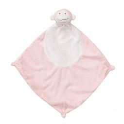 фото Покрывальце-игрушка Angel Dear Обезьяна. Цвет: розовый