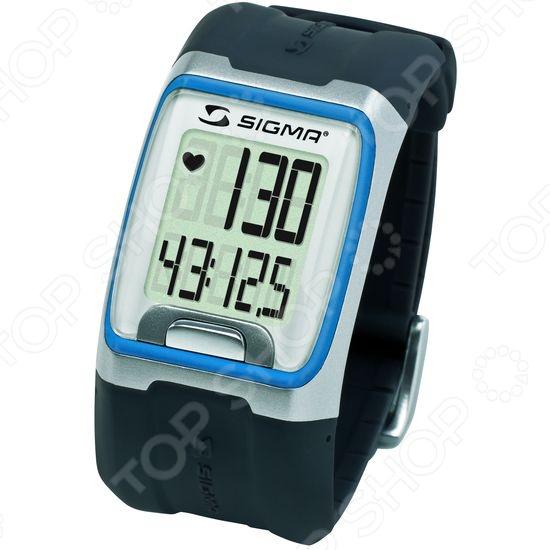 Пульсометр Sigma 23114 РС 3.11 BlueПульсометры<br>Пульсометр Sigma 23110 РС 3.11 Blue станет прекрасным дополнением к вашим аксессуарам для фитнеса. Представленная модель позволяет следить за скоростью сердцебиения с точностью ЭКГ. Это достигается за счет использования кодированного нагрудного датчика, который идет в комплекте. Большой экран и цифры помогают с легкостью считывать показания, а управление ведется всего одной мультифункциональной кнопкой. Также стоит отметить, что устройство может работать как обычные часы или секундомер. Корпус гаджета влагозащищен.<br>