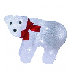 фото Фигурка с подсветкой Star Trading «Медвежонок с бантом» 583-31