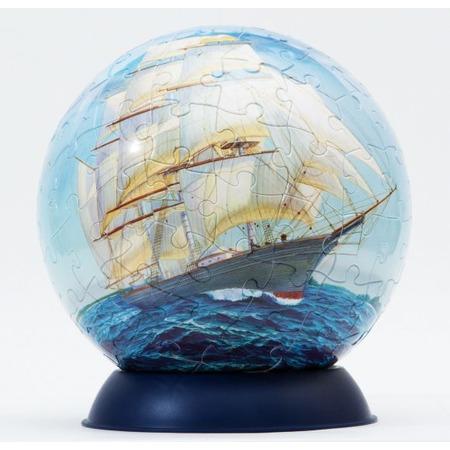 Купить Пазл шаровой Step By Step «Корабли»