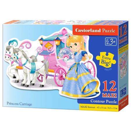 Купить Пазл 12 элементов Castorland «Принцесса»