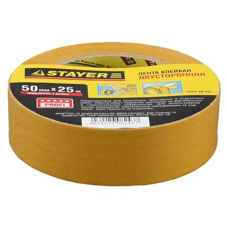Купить Лента клейкая Stayer Master 1221-50-25