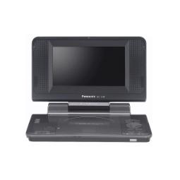 фото DVD-плеер портативный Panasonic DVD-LS70EE-K