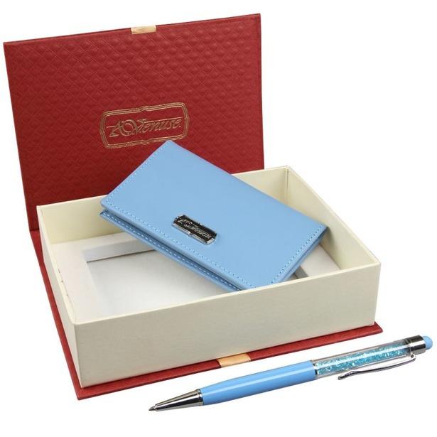 фото Набор: визитница и ручка-стилус Venuse 74005
