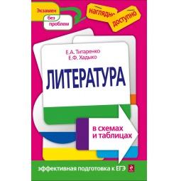 Купить Литература в схемах и таблицах