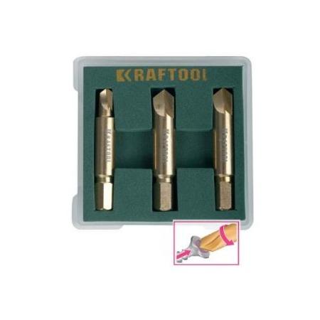 Купить Набор экстракторов для выкручивания крепежа Kraftool 26770-H3
