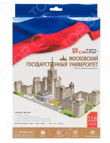 Пазл 3D мини CubicFun «Московский Государственный Университет»