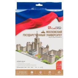 фото Пазл 3D мини CubicFun «Московский Государственный Университет»