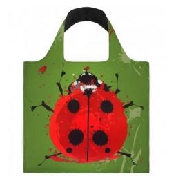 фото Сумка для покупок складная LOQI Beetle&Gecko