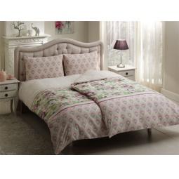 фото Комплект постельного белья TAC Donna. Семейный. Цвет: сиреневый