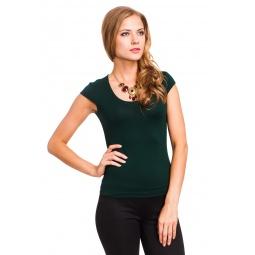 фото Футболка Mondigo 7001. Цвет: темно-зеленый. Размер одежды: 42