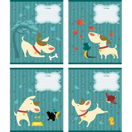 Купить Тетрадь в клетку Erich Krause «Забавный щенок». В ассортименте