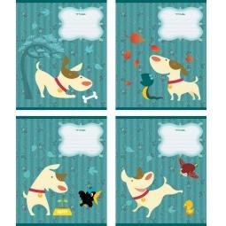 фото Тетрадь в клетку Erich Krause «Забавный щенок». В ассортименте