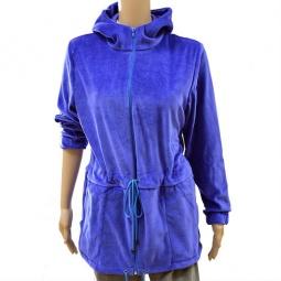 фото Парка с капюшоном Матекс. Цвет: синий. Размер одежды: 54