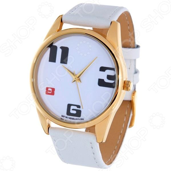 Часы наручные Mitya Veselkov «3-6-8-11» Shine