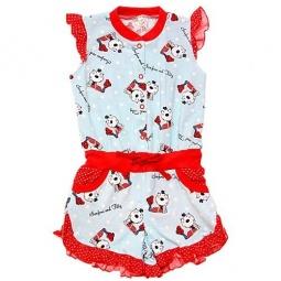 Купить Полукомбинезон для девочек SONI KIDS «Кошки-горошки»