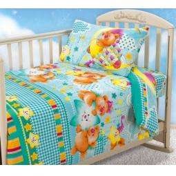 фото Ясельный комплект постельного белья Бамбино «Звездная ночь»