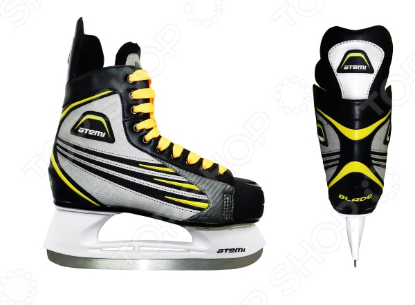 Коньки хоккейные ATEMI BLADE YELLOW Atemi - артикул: 48359
