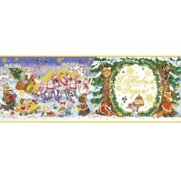 фото Пленка декоративная для окна Феникс-Презент 38632 «Новогодний праздник»
