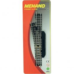 фото Стрелка левая для железной дороги Mehano F282