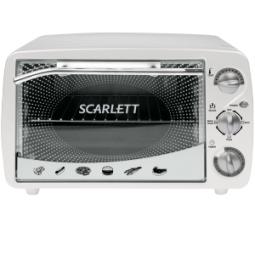 фото Мини-печь Scarlett SC-097. Цвет: белый