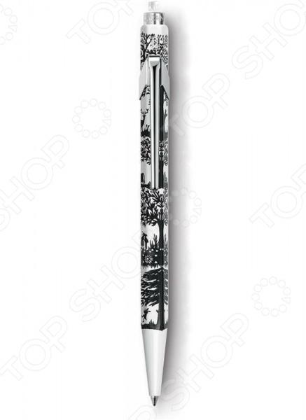 Ручка шариковая в подарочной коробке Carandache Office Essentialy Swiss Cut up Paper ручка carandache 4789 289
