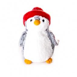 фото Мягкая игрушка Aurora «Пингвин». Цвет: красный